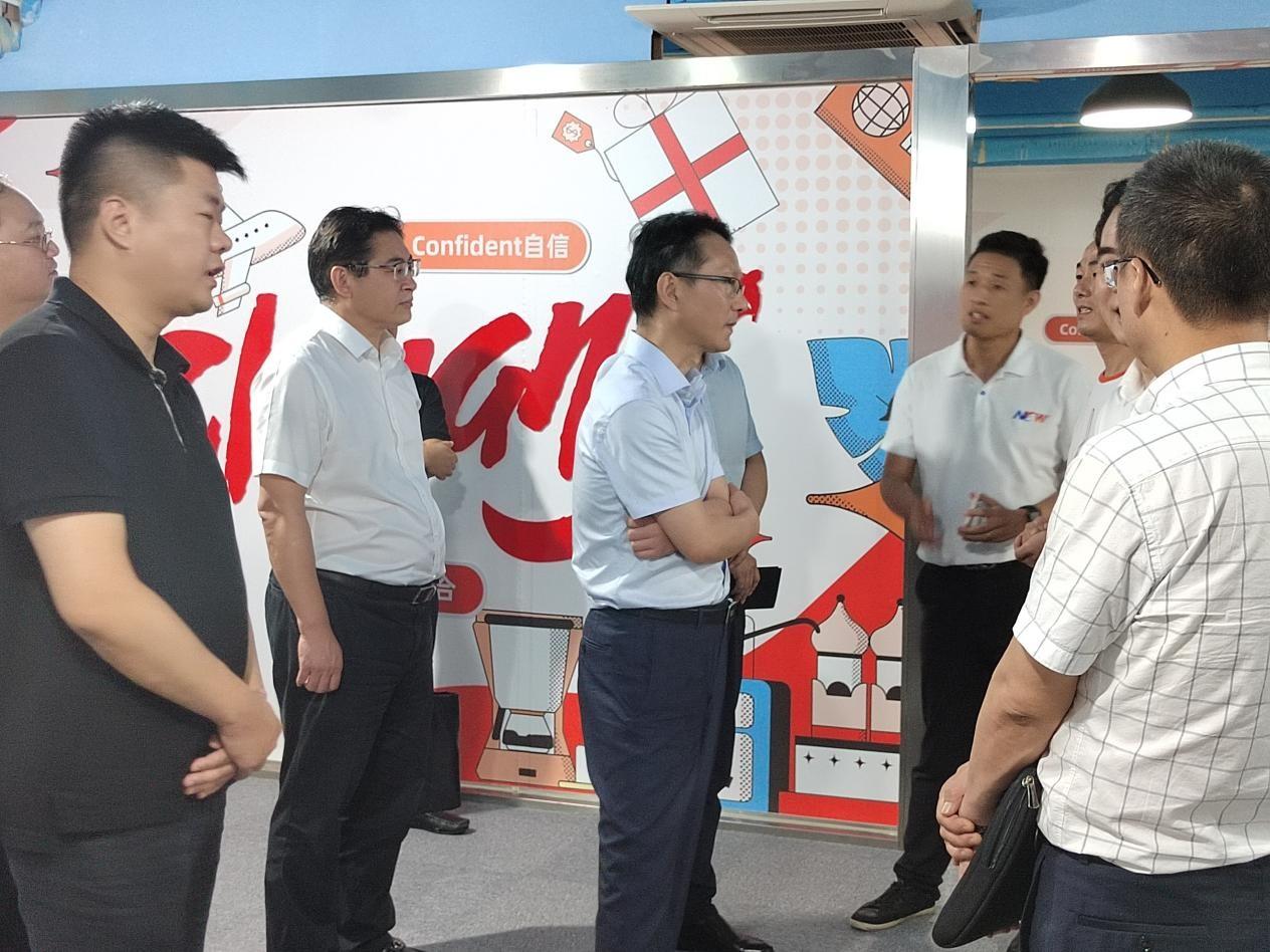 义乌市王市长一行领导莅临全球速卖通义乌服务中心,对其本土化服务给与高度认可!